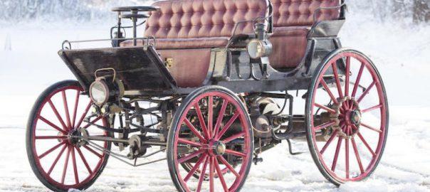 Primul autovehicul hibrid, 1896