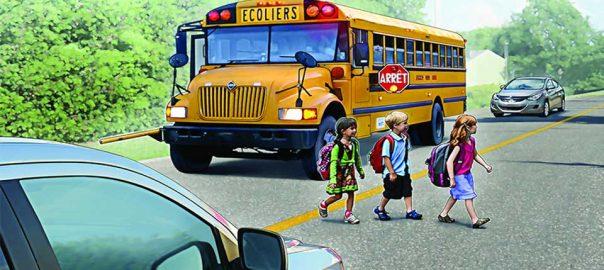 Autobuz scolar Canada