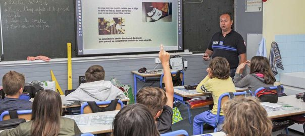 Educatia rutiera in scoli