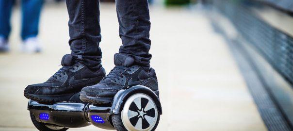 hoverboard pe strada