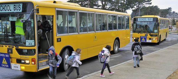Autobuze transport elevi la scoala